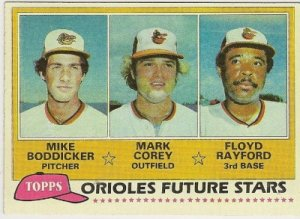 1981 BALTIMORE ORIOLES FUTURE STARS #399 Topps Baseball Card