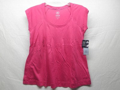 IZOD Women's SZ:Small Rose S/S Cotton Top, NWT