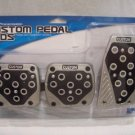 CUSTOM PEDAL PADS Manual Transmission, NIP