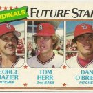 1980 ST LOUIS CARDINALS FUTURE STARS #684 Topps Baseball Card