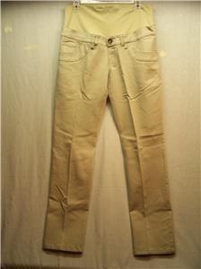 OH,MA!! Maternity Wear, Size 8 Beige Jean Pants, NWT