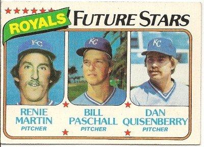 1980 KANSAS CITY ROYALS FUTURE STARS #667 Topps Baseball Card