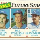 1980 KANSAS CITY ROYALS FUTURE STARS #667 Topps Baseball Card
