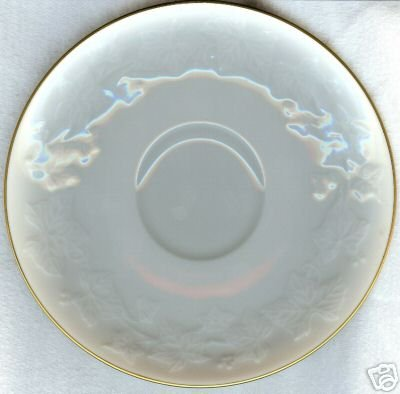 "NORITAKE IVORY CHINA #7341 HALLS OF IVY 6"" SAUCER NI"