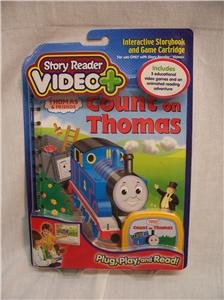 COUNT ON THOMAS Story Reader Video +, Plug, Play,& Read
