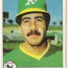 """ELIAS SOSA """"Oakland A's"""" 1979 #78 Topps Baseball Card"""