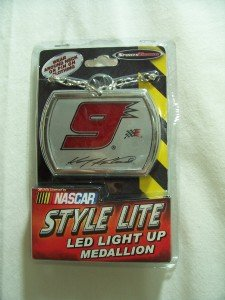 SPORTS TRONICS Nascar Style Lite,LED Light Up Medallion