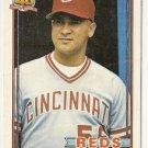 """ROSARIO RODRIGUEZ """"Cincinnati Reds"""" 1991 #688 Topps Baseball Card"""