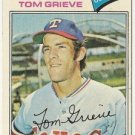 "TOM GRIEVE ""Texas Rangers"" 1977 #403 Topps Baseball Card"