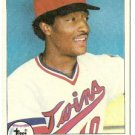"HOSKEN POWELL ""Minnesota Twins"" 1979 #656 Topps Baseball Card"