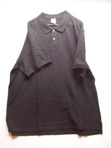 OLD NAVY~Mens S/S Polo Shirt~Black~Size XXL~NWOT