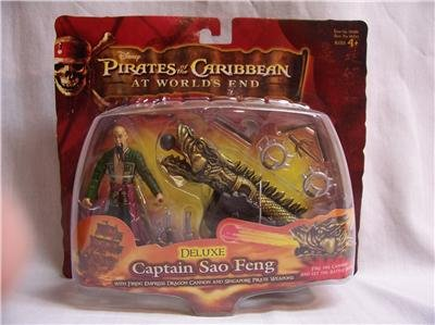 DISNEY Pirates of the Caribbean Sao Feng At World's End