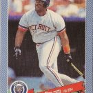 "CECIL FIELDER ""Detroit Tigers"" 1993 #16 Continental Baking Company BB Card"