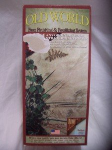 OLD WORLD Faux Finishing & Fossilizing System, Northwoods Fern, NIB