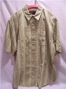 RUFF HEWN~Mens S/S Shirt~Green~SZ Large~MSRP $46~NWT