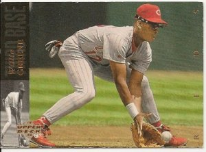 "WILLIE GREENE ""Cincinnati Reds"" 1994 #230 Upper Deck Baseball Card"