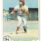 "MANNY SARMIENTO ""Cincinnati Reds"" 1979 #149 Topps Baseball Card"