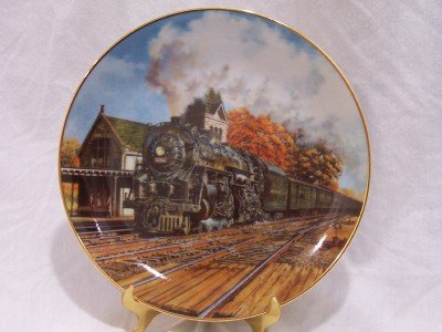 """GREAT AMERICAN TRAINS """"The Southwestern Limited""""  Plate"""