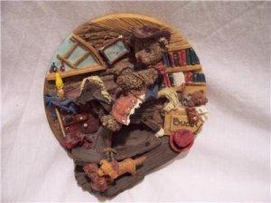 WOOSTER & SCHNEIDER-ROUND UP Collectible Plate