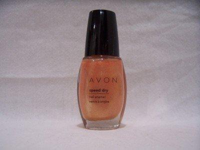 AVON Speed Dry Nail Enamel, Gilty Pink (S002)