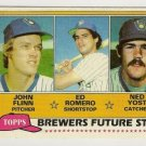 1981 MILWAUKEE BREWERS FUTURE STARS #659 Topps Baseball Card