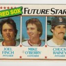 1980 BOSTON RED SOX FUTURE STARS #662 Topps Baseball Card