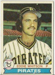 "EDDIE WHITSON ""Pittsburgh Pirates"" 1979 #189 Topps Baseball Card"