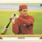 "GREG SWINDELL ""Cincinnati Reds"" 1993 #515 Topps Baseball Card"