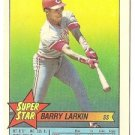 "BARRY LARKIN ""Cincinnati Reds"" 1989 #44 Super Star Topps Baseball Card!"