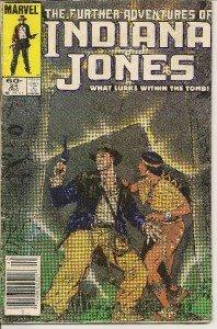 INDIANA JONES Marvel Comic Book Vol. 1 #24 December1984