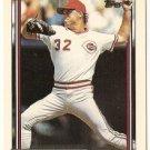 "TOM BROWNING ""Reds"" 1992 #339 Topps Baseball Card"