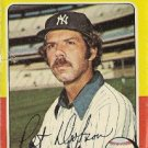 "PAT DOBSON ""New York Yankees"" 1975 #44 Topps Baseball Card"