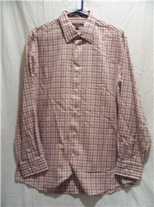 CEZANI Men's Multi-Striped L/S Dress Shirt, Size: Large, NWT