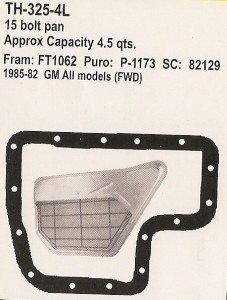 GM TH-325-4L 15 Bolt Pan Transmission Kit