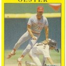 "RON OESTER ""Cincinnati Reds"" 1991 #74 Fleer Baseball Card"