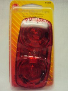 Peterson Red Double Bulls-Eye Clearance & Side Marker Light Item #V138R