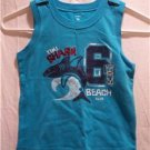 CARTER'S TIHI SHARK BEACH CLUB Graphic Muscle T-Shirt, Size: 3T, NWT