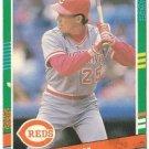 """TODD BENZINGER """"Cincinnati Reds"""" 1991 #640 Donruss Baseball Card"""
