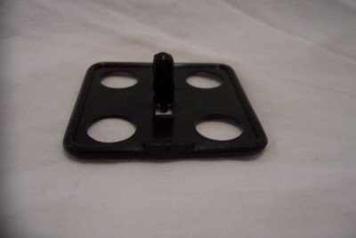 Ford/GM/Chrysler/AMC Hood Insulation Clip 1966-ON, C6GY-16776-A, 389089, 6028381, 4001752 (5 Qty)