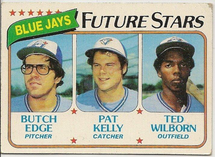 "1980 ""TORONTO BLUE JAYS"" FUTURE STARS #674 Topps Baseball Card"
