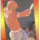 "DAN WILSON ""Cincinnati Reds"" 1992 #241 Donruss Baseball Card"