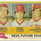 "1981 ""CINCINNATI REDS"" FUTURE STARS #606 Topps Baseball Card"