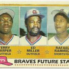 1981 ATLANTA BRAVES FUTURE STARS #192 Topps Baseball Card