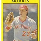 "HAL MORRIS ""Cincinnati Reds"" 1991 #72 Fleer Baseball Card"