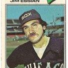 "JIM ESSIAN ""Chicago White Sox"" 1977 #529 Topps Baseball Card"
