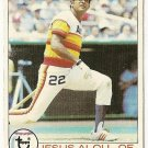 "JESUS ALOU ""Houston Astros"" 1979 #107 Topps Baseball Card"