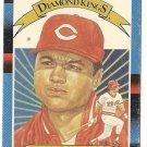 "KAL DANIELS ""Cincinnati Reds"" 1987 #14 Donruss Baseball Card"