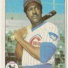 "GENE CLINES ""Chicago Cubs"" 1979 #171 Topps Baseball Card"