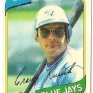 "CRAIG KUSICK ""Toronto Blue Jays"" 1980 #693 Topps Baseball Card"