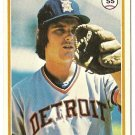 "TOM VERYZER ""Detroit Tigers"" 1978 #633 Topps Baseball Card"